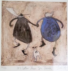 Sam Toft Print - It's Later Than You Think...