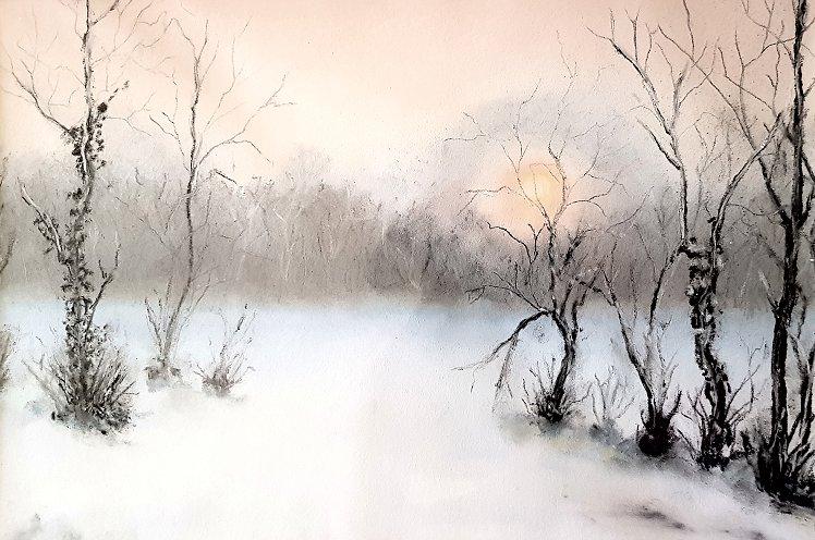 Snow Scene - Jeremy Ford